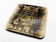 Doctor Who Dalek cork backed drinks mat / coaster   (py)